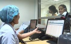 Bệnh viện thu viện phí bằng cà thẻ, quét QR Code