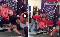 Video 'tai nạn kinh dị' của lực sĩ Radoshkevich ở Giải vô địch cử tạ Nga