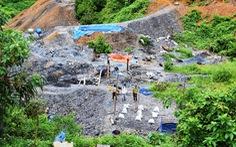 Một phu vàng tử vong tại hầm vàng ở Quảng Nam
