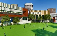 Rộn ràng chuẩn bị cho ngôi trường xanh ở TP.HCM