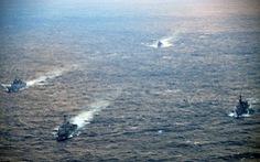 Mỹ kéo đồng minh tập trận chung ở Tây Thái Bình Dương