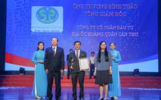 Hoàng Quân Cần Thơ liên tiếp nhận giải thưởng về thương hiệu Việt
