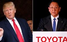 Ông Trump ghẹo chủ tịch Toyota 'chẳng ra dáng ông chủ'