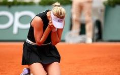 Tay vợt 18 tuổi Potapova gây chấn động, hạ cựu số 1 Kerber ở Roland Garros 2019