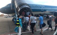 Vietnam Airlines hủy 2 chuyến bay ảnh hưởng bão số 2