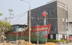 'Con tàu lịch sử' từng bị tàu Trung Quốc gây hấn về Nhà trưng bày Hoàng Sa