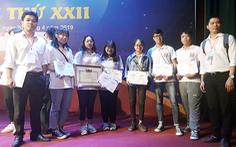 Sinh viên Duy Tân giành nhiều giải tại Olympic sinh viên toàn quốc 2019