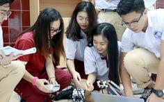 Một trường quốc tế có nhiều học sinh giỏi cấp thành phố