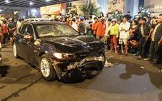 Bắt tạm giam nữ lái xe BMW say rượu tông chết người