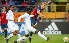 Tiền đạo Haaland đi vào lịch sử khi ghi 9 bàn trong một trận ở U20 World Cup 2019