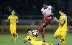 Sân Thống Nhất: Đội bóng xứ Nghệ lại hòa