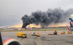 41 người chết khi máy bay Nga hạ cánh khẩn cấp ở Matxcơva
