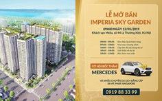 Imperia Sky Garden tổ chức bốc thăm trúng xe Mercedes tại lễ mở bán