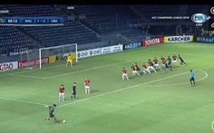 Vào sân phút 61, Xuân Trường không cứu nổi Buriram United