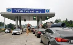 Bộ Giao thông vận tải lại muốn gọi trạm thu phí là 'trạm thu tiền'