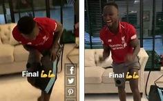 Video tràn ngập cảm xúc trong phòng thay đồ của Liverpool