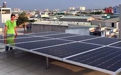 Dân TP.HCM nhận tiền bán điện mặt trời từ ngành điện