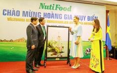 Công chúa Thụy Điển gặp gỡ NutiFood tại TP.HCM