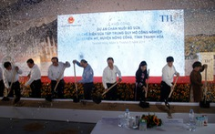 Khởi công dự án chăn nuôi bò sữa, chế biến sữa 3.800 tỉ đồng ở Thanh Hóa