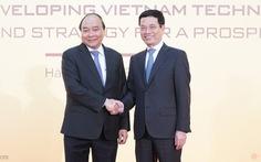 Thủ tướng dự diễn đàn phát triển doanh nghiệp công nghệ Việt Nam