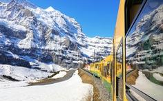 Nóc nhà châu Âu Jungfrau - kỳ quan tuyết trắng trên dãy Alps