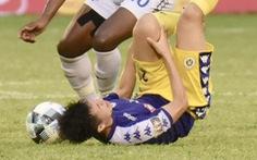 VÒNG 12 V-LEAGUE: Đình Trọng chấn thương, ông Park sẽ thay người