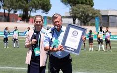 Cầu thủ nhí VN được vinh danh ở kỷ lục Guinness