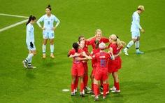 Tuyển nữ Thái Lan thảm bại với tỉ số không tưởng 0-13 trước Mỹ
