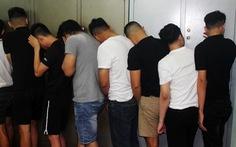 Hàng chục thanh niên tụ tập chơi ma túy trong quán karaoke