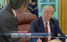 Tranh cử 2020, ông Trump nói sẵn sàng nghe thông tin xấu về đối thủ