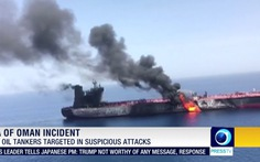 Iran phản pháo vụ tấn công tàu dầu, Mỹ điều tàu chiến đến vùng Vịnh