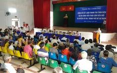 171 hộ dân dự công bố kết luận thanh tra dự án Thảo cầm viên mới