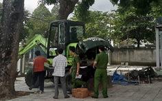 Tạm giữ hình sự hai người cản trở chính quyền dẹp dự án 'ma'