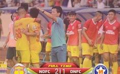Ngoại binh trượt chân tai hại, Đà Nẵng thua Nam Định phút bù giờ