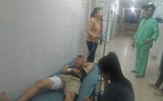 Video hai nạn nhân bị bắn trọng thương đang được cấp cứu tại bệnh viện