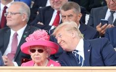 Ông Trump: 'Gặp tôi là sự kiện vui nhất 25 năm qua của Nữ hoàng Anh'