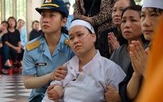 Xúc động lễ truy điệu hai phi công hi sinh vụ máy bay quân sự rơi