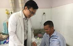 'Hiệp sĩ' Nguyễn Tăng Tiên bị chém đứt gân ngón tay