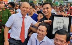 Ông Park Hang Seo 'hứa' sẽ làm hết mình vì bóng đá Việt Nam