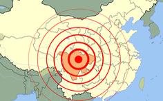 5 trận động đất liên tiếp làm rung chuyển Tứ Xuyên