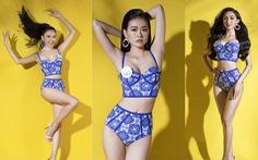32 ứng viên Hoa hậu Thế giới Việt Nam trong trang phục áo tắm