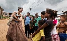 Angelina Jolie trở thành 'nhà báo' cho tạp chí Time