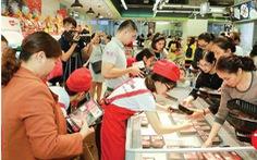 Thịt heo nội, tiêu chuẩn châu Âu hấp dẫn người mua