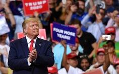 Ông Trump kêu gọi người ủng hộ 'giữ đội hình này' thêm 4 năm nữa