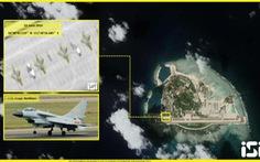 Trung Quốc cố tình phô trương 4 tiêm kích J-10 ở Hoàng Sa