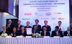 9 công ty bắt tay thành lập liên minh tái chế bao bì Việt Nam