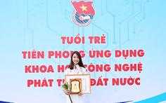 Sinh viên Duy Tân nhận học bổng Nữ sinh viên kỹ thuật AmCham 2019