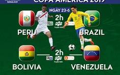 Lịch trực tiếp Copa America 2019: Hạ màn bảng A