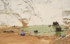 Đã tìm thấy thi thể công nhân mất tích vì lở cát mỏ titan