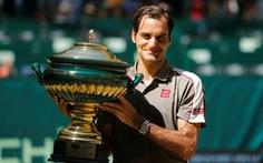 Federer lần thứ 10 vô địch Halle Open